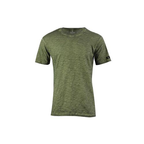 Pánké olivově žíhané tričko
