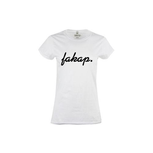 Dámské tričko s nápisem Fakap