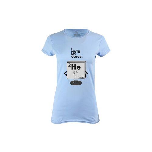 Dámské tričko Nesnáším svůj hlas