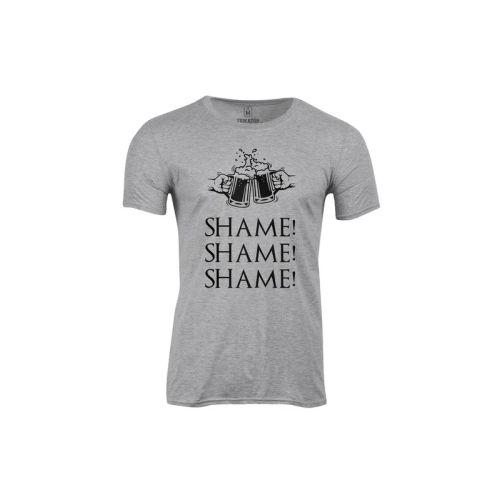 Pánské tričko Třikrát hanba
