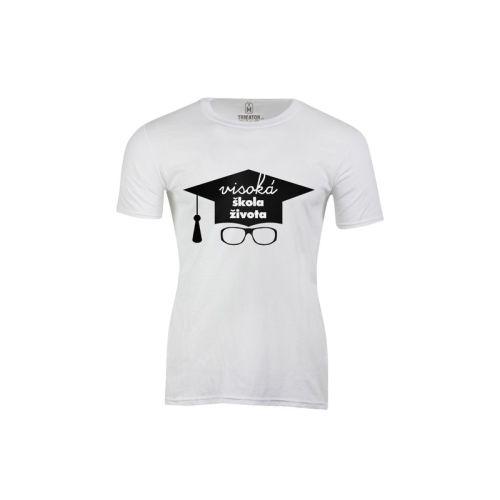 Pánské tričko Visoká škola života