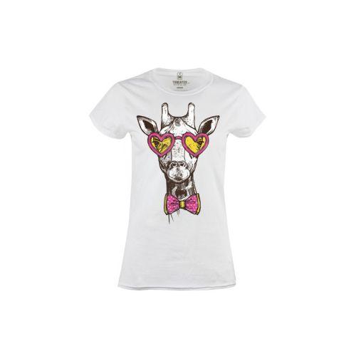 Dámské tričko Žirafa hipster