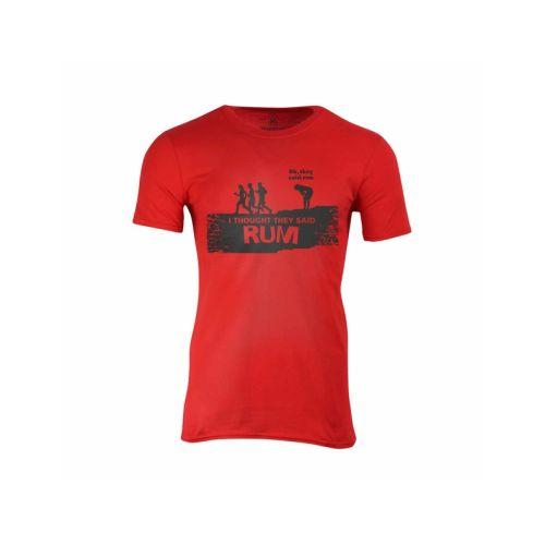 Pánské vtipné tričko Rum nebo Run