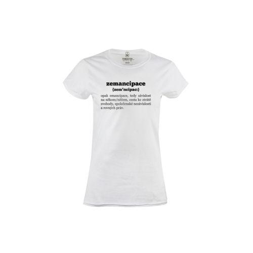 Dámské tričko Zemancipace