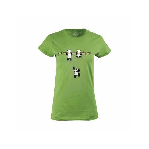 Dámské tričko roztomilé Pandy