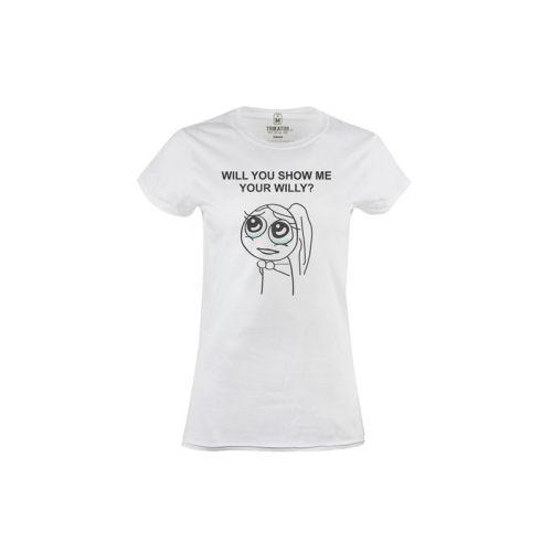 Dámské tričko Show Willy