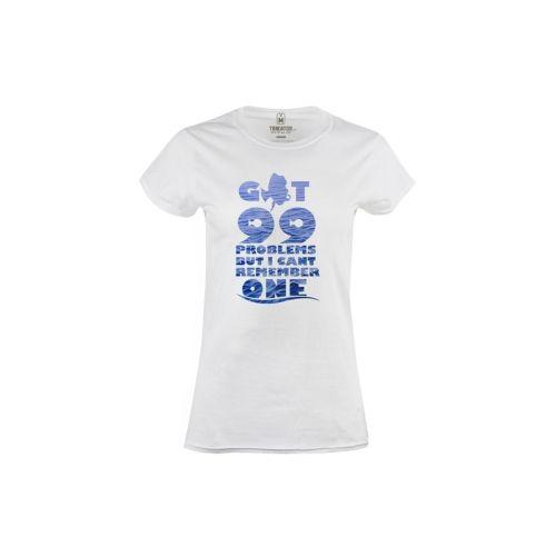 Dámské tričko 99 problemů