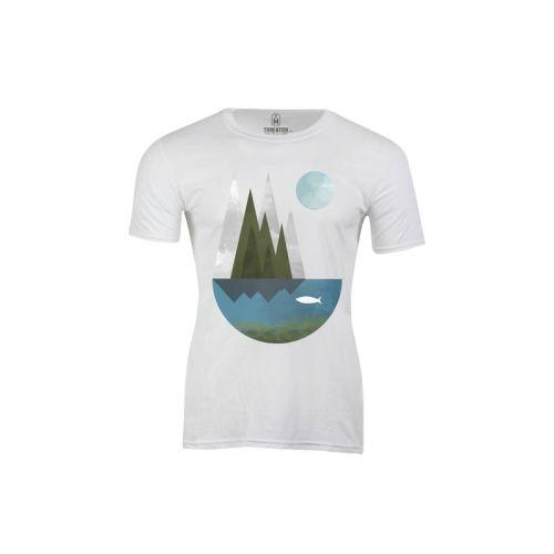 Pánské tričko Ryba a měsíc
