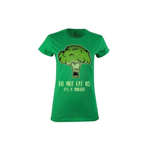Dámské tričko Zabiják brokolic