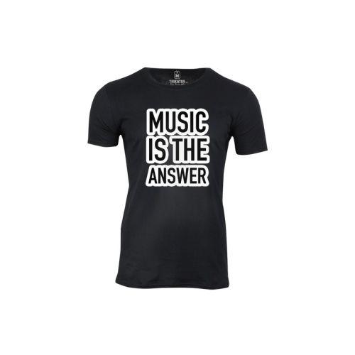 Pánské tričko Hudba je odpověď