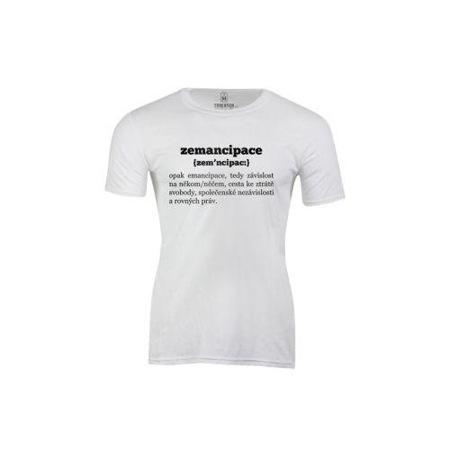 Pánské tričko Zemancipace