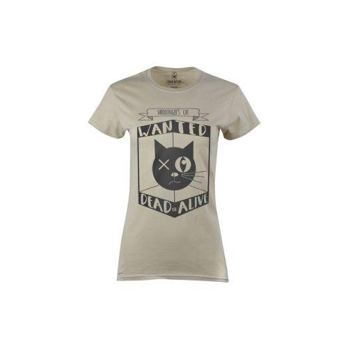 Dámské tričko Kočka pana Schrödingera
