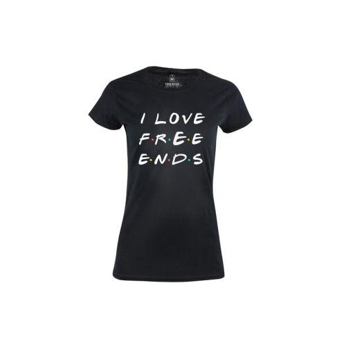 Dámské tričko I Love Free Ends