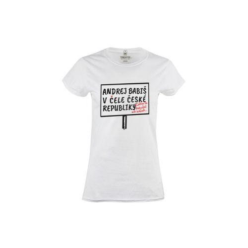 Dámské tričko Andrej v čele