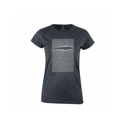 Dámské šedé tričko Kuk