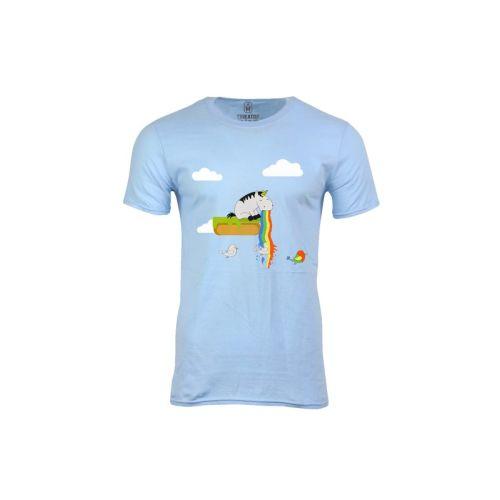 Pánské tričko Jak se zrodil papoušek