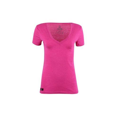 Dámské růžové tričko Berry
