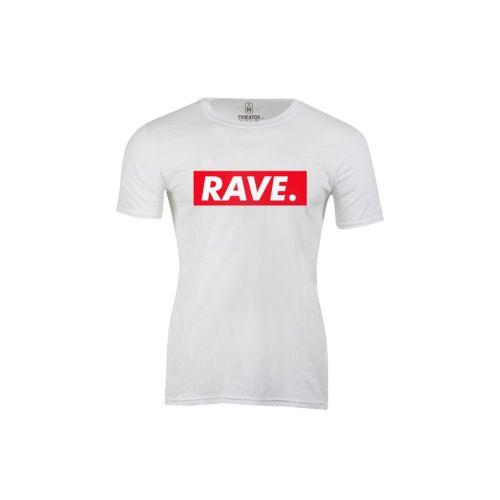 Pánské tričko s nápisem Rave