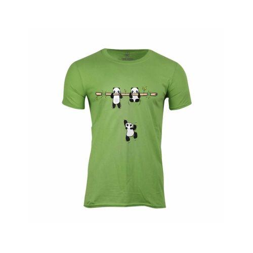 Pánské tričko roztomilé Pandy