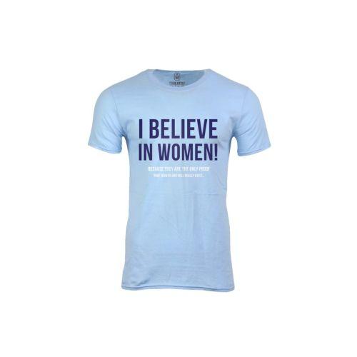 Pánské tričko Věřím ženám