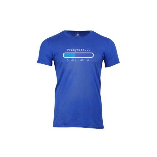 Pánské vtipné tričko Přemýšlím