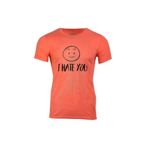 Pánské tričko Smajlíkový hater