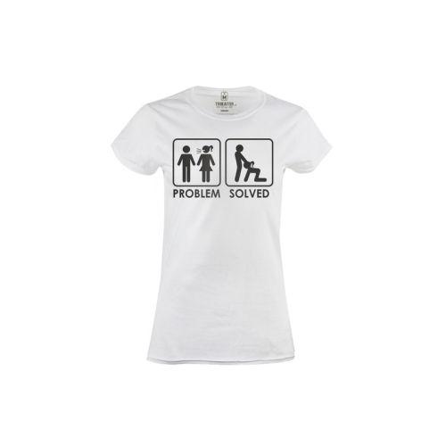 Dámské tričko Řešení každého problému