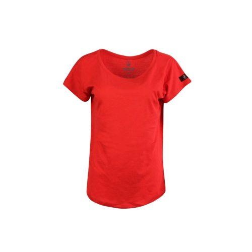 Dámské červené tričko Shine