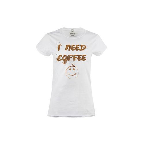 Dámské tričko Potřebuju kafe