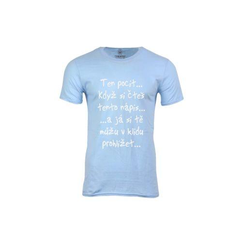 Pánské tričko Jen si počti