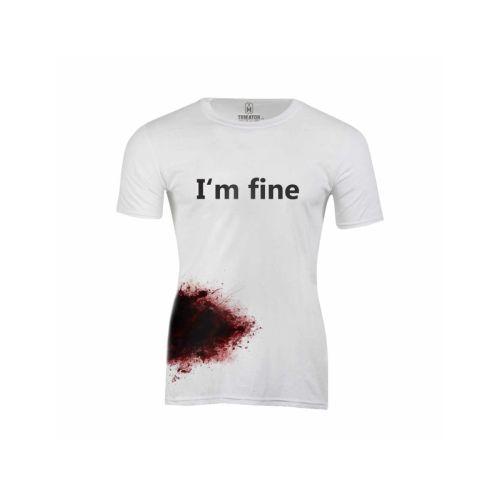 Pánské krvavé tričko