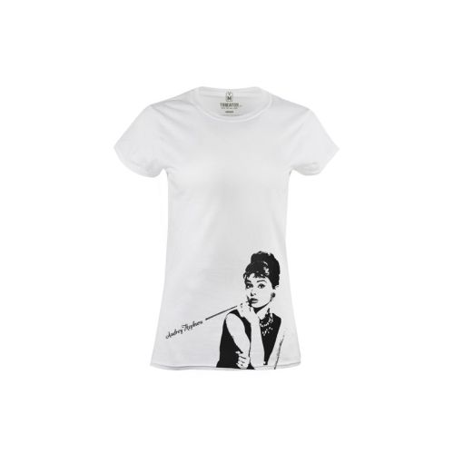 Dámské tričko Černobílá Audrey Hepburn