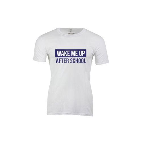 Pánské tričko Vzbuď mě po škole