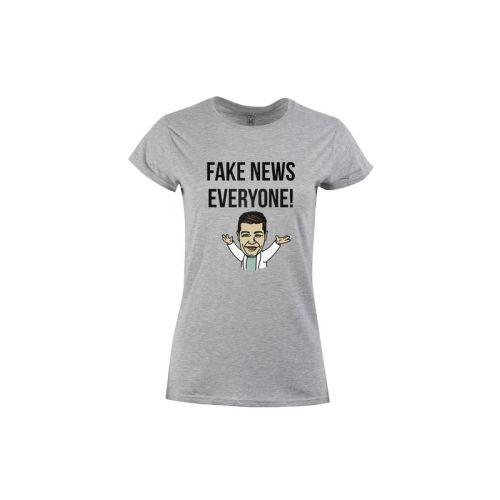 Dámské tričko Fake News, everyone