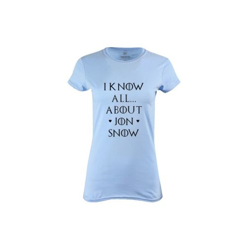 Dámské tričko Know Jon Snow (GOT)