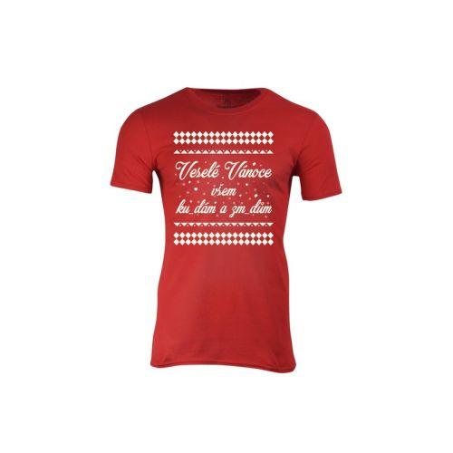 Pánské tričko Veselé Vánoce