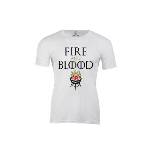 Pánské tričko Oheň a krev