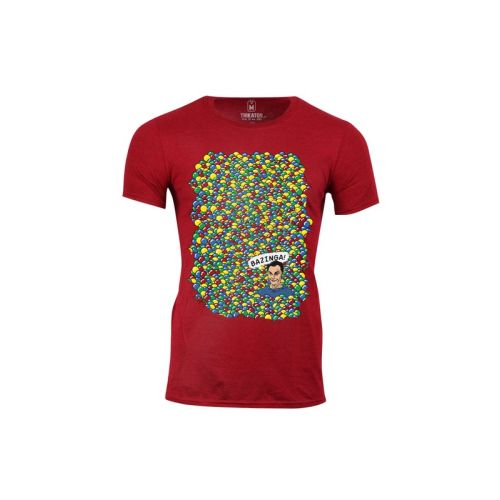 Pánské tričko Sheldonova Bazinga