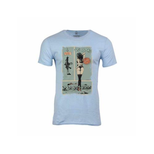 Pánské tričko Holky a zbraně