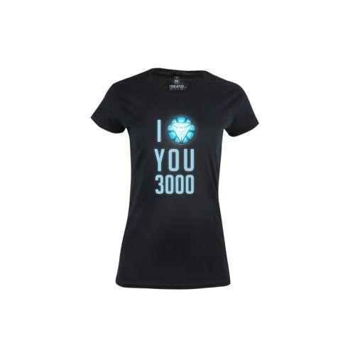 Dámské tričko I love you 3000