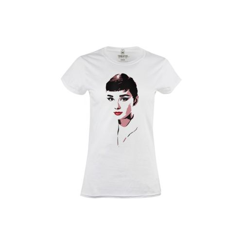 Dámské tričko Barevná Audrey