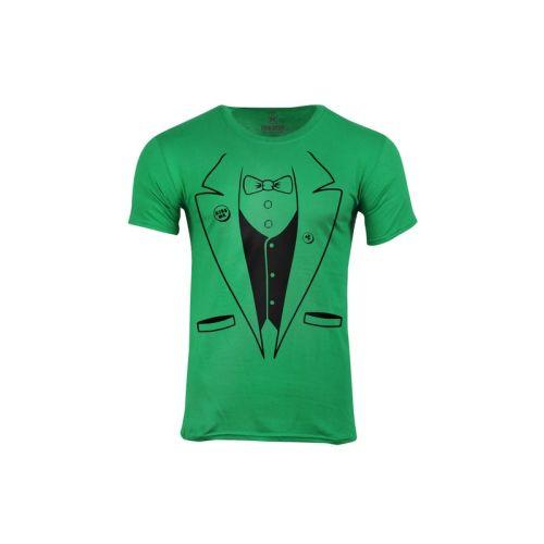 Pánské zelené tričko Irské Taxido
