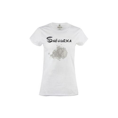Dámské tričko Jako Sněhurka