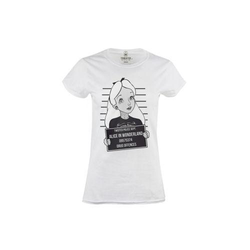 Dámské tričko Alice in Wonderland