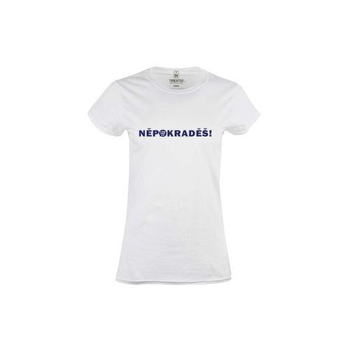 Dámské tričko ANO Nepokraděš