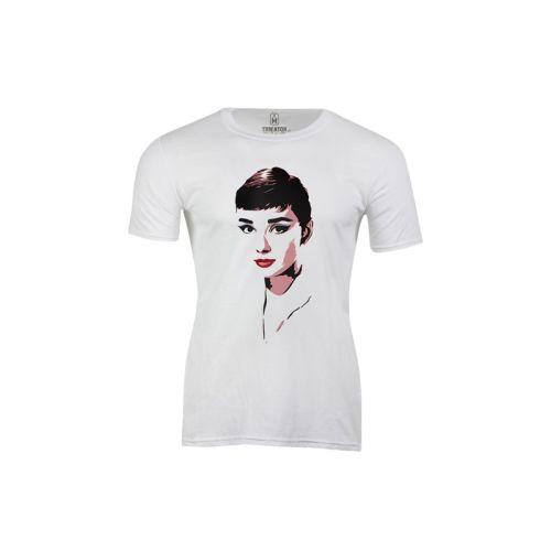 Pánské tričko Barevná Audrey