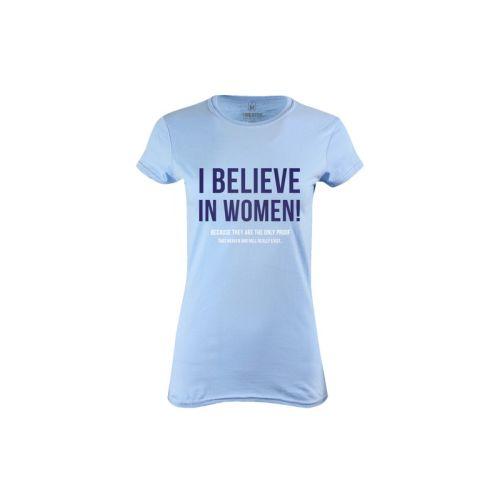 Dámské tričko Věřím ženám