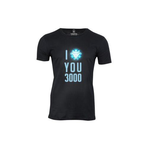 Pánské tričko I love you 3000
