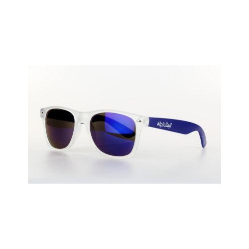 Sluneční modrobílý brýle Fpicilajf OneSize