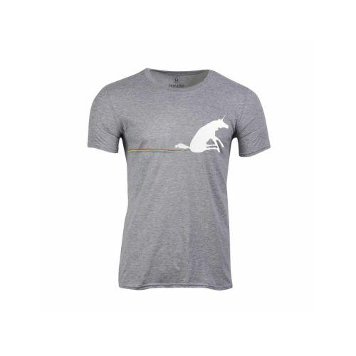 Pánské tričko Duha za jednorožcem